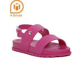 Sandália Barbie Infantil para Menina - Rosa 25