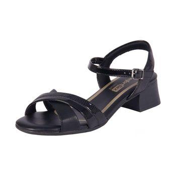 Sandalia Comfortflex Plus Preto 35