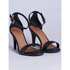 Sandália de Salto Feminina Bebecê Preto 39