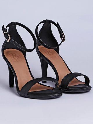 Sandália de Salto Feminina Bebecê Preto