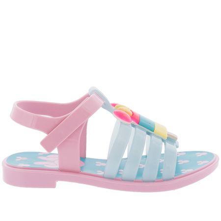 Sandália Disney Minnie Mouse Ice Pop Verniz Rosa