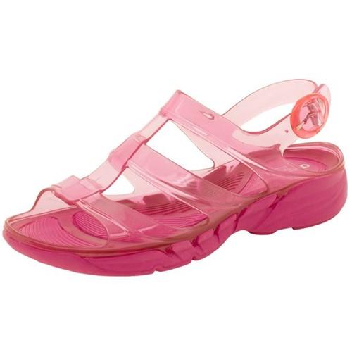 Sandália Feminina Salto Baixo Pink Azaleia - 350151