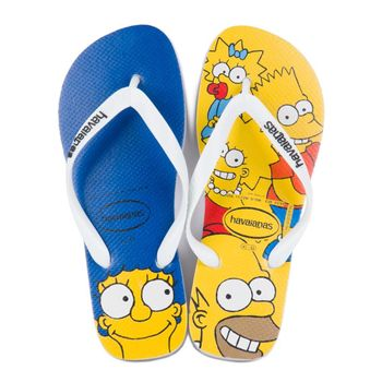 Sandalia Havaianas Simpsons Branco 43/44