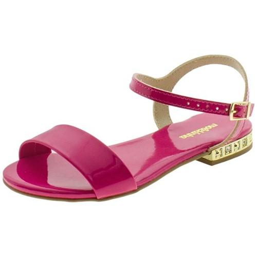 Sandália Infantil Feminina Molekinha - 2319101 Pink 25