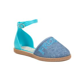 Sandália Infantil para Menina Frozen Encantada - Azul 23/24