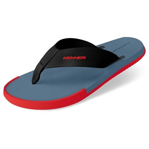 Sandália Kenner Kick-S Colors Azul / Vermelha 38