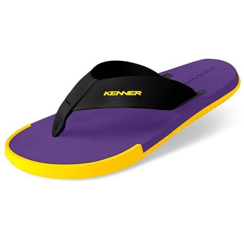 Sandália Kenner Kick-S Colors Roxa / Amarela 39