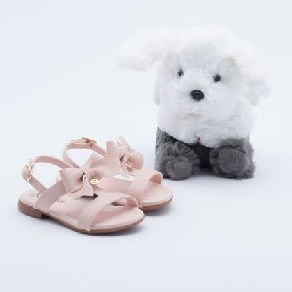 Sandália Klin Suami Baby Anjinho Infantil Rosa 22
