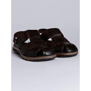 Sandália Masculina Pegada Marrom Escuro 37