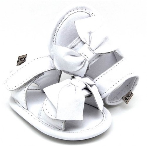 Sandália para Bebê Joaquina - Branco