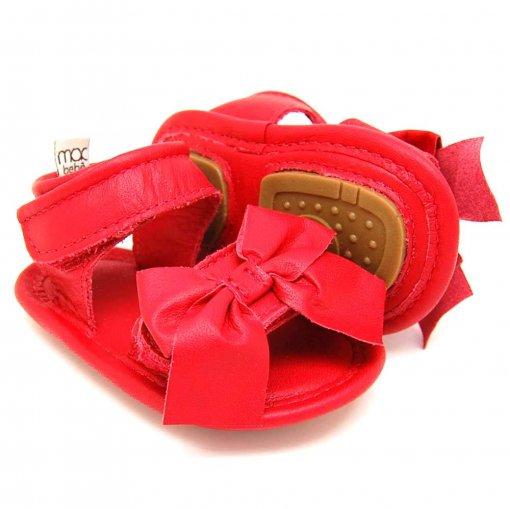 Sandália para Bebê Joaquina - Vermelho