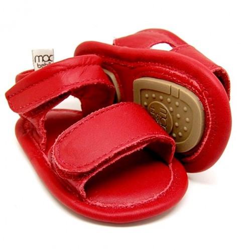 Sandália para Bebê Rafa - Vermelho
