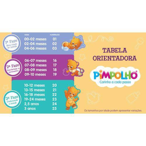 Sandália Pimpolho Colorê Laçinhos - Numero 22