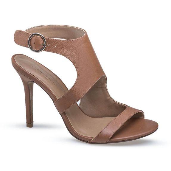Sandalia Salto Alto Caramelo Flamarian - 562177-6 CA