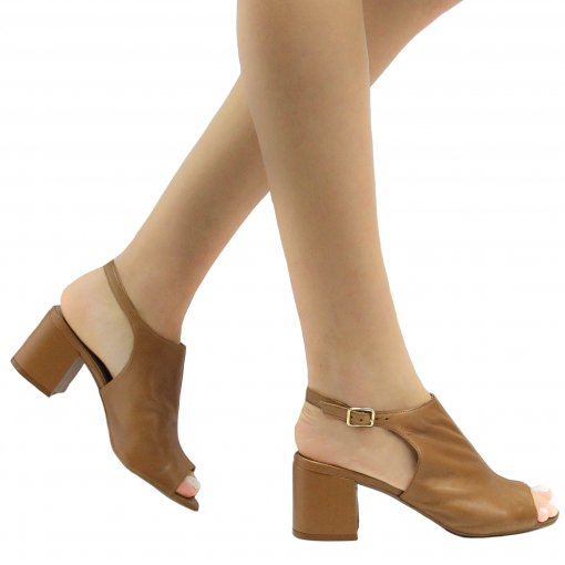 Sandália Zariff Shoes Chanel Fivela 46602 | Betisa