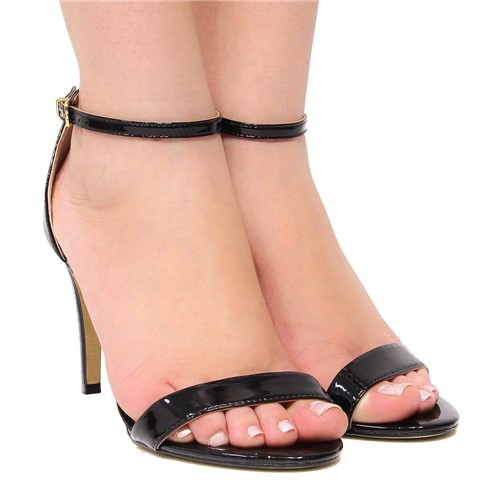Sandália Zariff Shoes Salto Preto