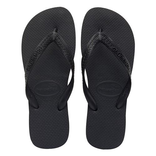 Sandálias Havaianas Top Preto Tamanho 33/34 com 1 Par