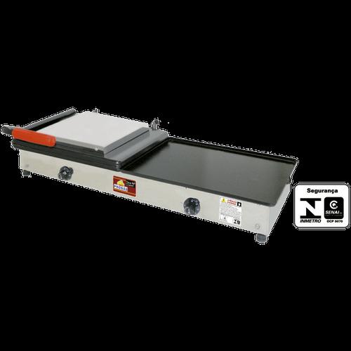 Sanduicheira Conjugada Elétrica Progás 95cm PR-950EN Style 220V