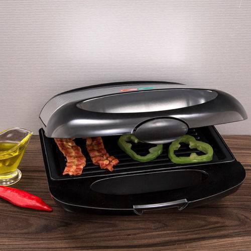 Sanduicheira e Grill Mondial Inox Premium S-07