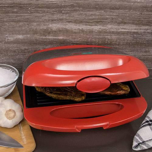 Sanduicheira e Grill Mondial Inox Premium S-19