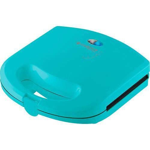 Sanduicheira Minigrill Antiaderente Azul Pistache - Cadence Easy Meal Grill Linha Colors San233