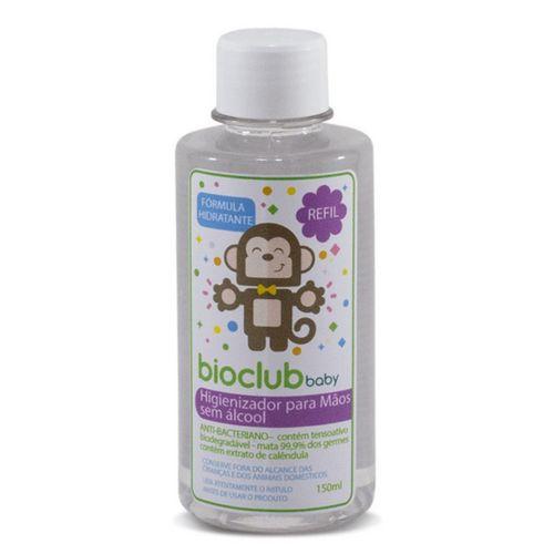 Sanitizante para Mãos Sem Alcool REFIL BioClub