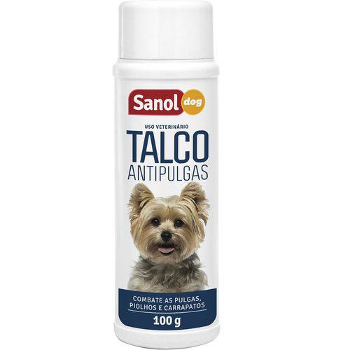 Talco Antipulgas Sanol Dog