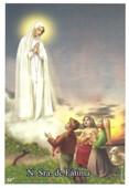 Santinhos de Oração de Nossa Senhora de Fátima   SJO Artigos Religiosos