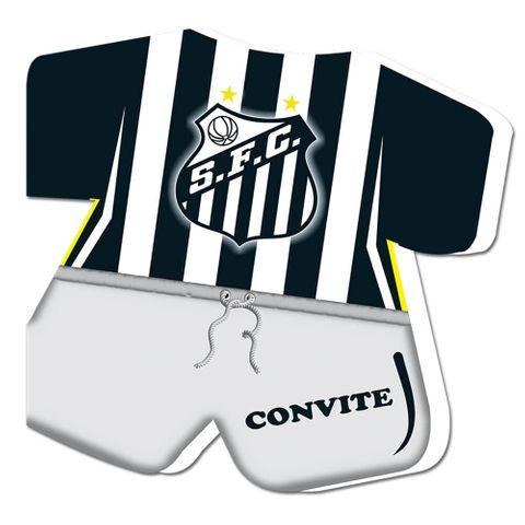 Santos Convite C/8 - Festcolor