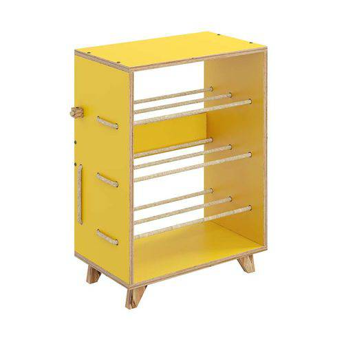 Sapateira Cordel Amarelo