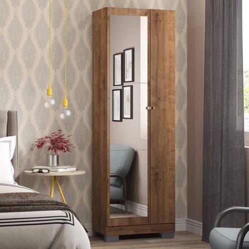 Sapateira 2 Portas com Espelho 0547 Carraro Native