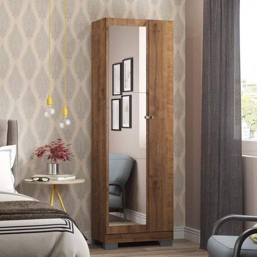 Sapateira 2 Portas com Espelho Carraro Native