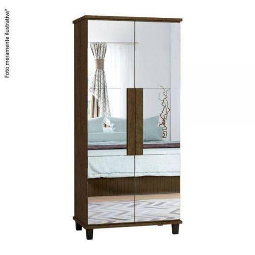 Sapateira Requinte Rv com Espelho - Imbuia