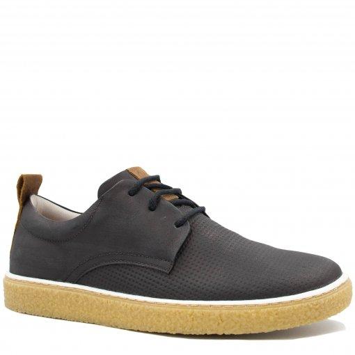 Sapatênis Zariff Shoes Casual em Couro Solado Crepe MW33011   Betisa