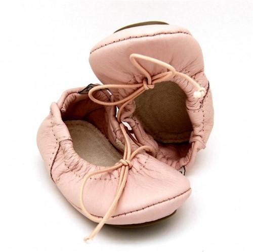Sapatilha Bailarina para Bebê Vida - Rosa