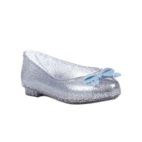Sapatilha Frozen Infantil para Menina - Azul/prata 28