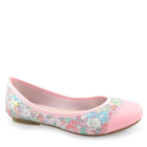 Sapatilha Infantil Floral Klin Jully 172034 172034