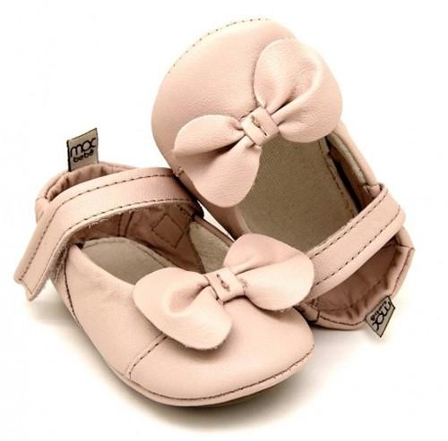 Sapatilha para Bebê Alicia - Rosa Bebê