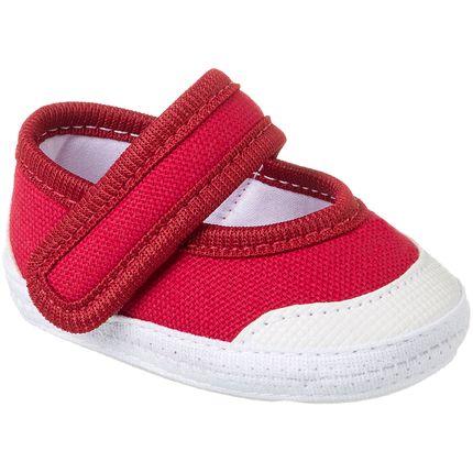 Sapatilha para Bebê Vermelho - Keto Baby