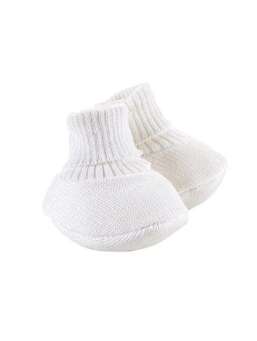 Sapatinho Socks de Tricô Branco