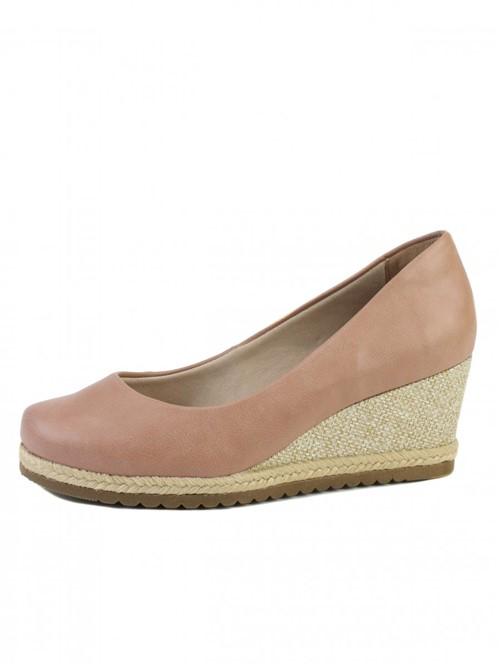 Sapato Anabela Bebecê Suede Corda | Vivere Store