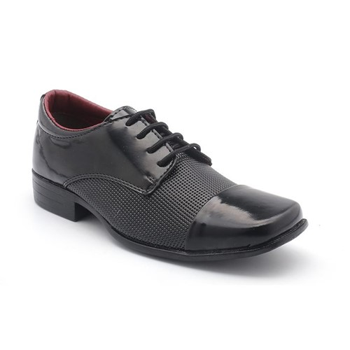 Sapato BBT Verniz Diamante Preto 441-0552-33