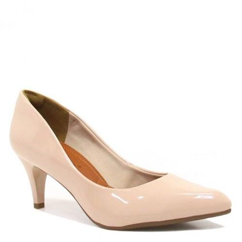 Sapato Bebecê Scarpin Verniz Salto 6810-061   Betisa