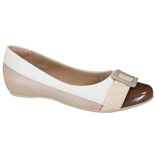 Sapato Comfortflex Feminino 19-84304 000005 1984304000005