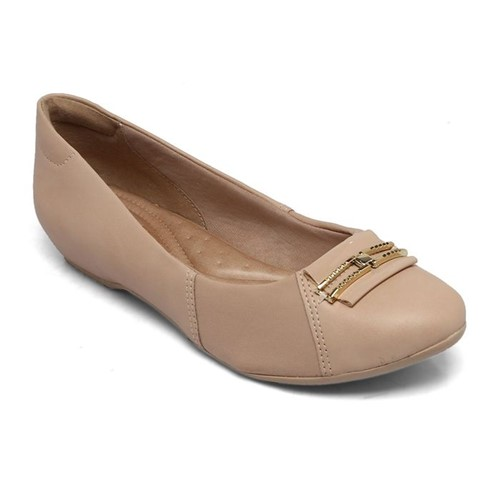 Sapato Comfortflex Nude 1884303