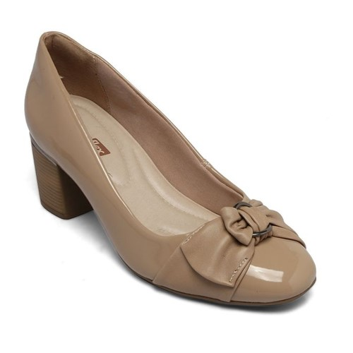 Sapato Comfortflex Verniz Avelã 1867304