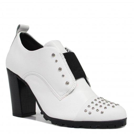 Sapato Cravo e Canela Oxford Salto 153859 | Betisa