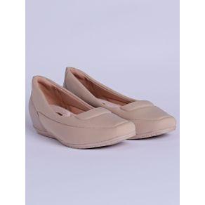 Sapato de Salto Feminino Comfortflex Bege 39