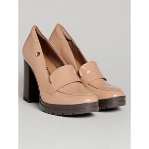 Sapato de Salto Feminino Quiz Bege 36