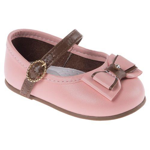Sapato Encanto Rosa e Marrom - 19